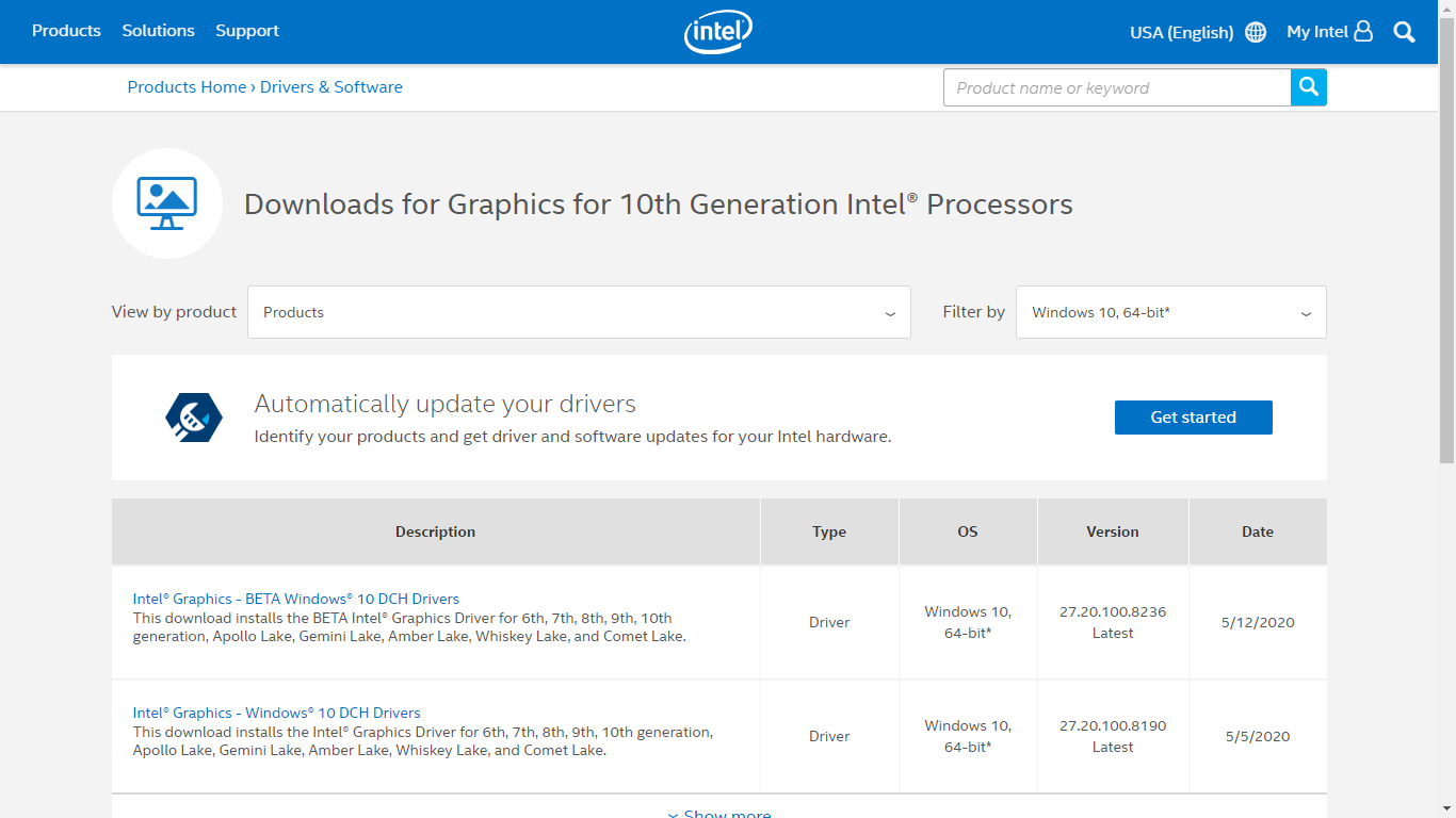 Intel HD Graphics güncelleme rehberi