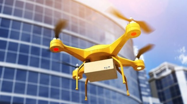 Sağlık sektörüne dronelu hizmet
