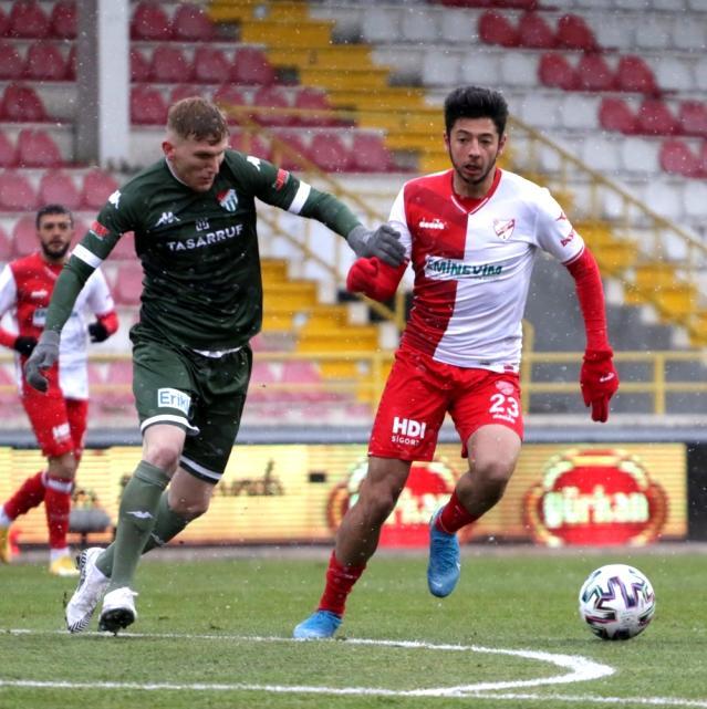 TFF 1. Lig: Boluspor: 2 Bursaspor: 1